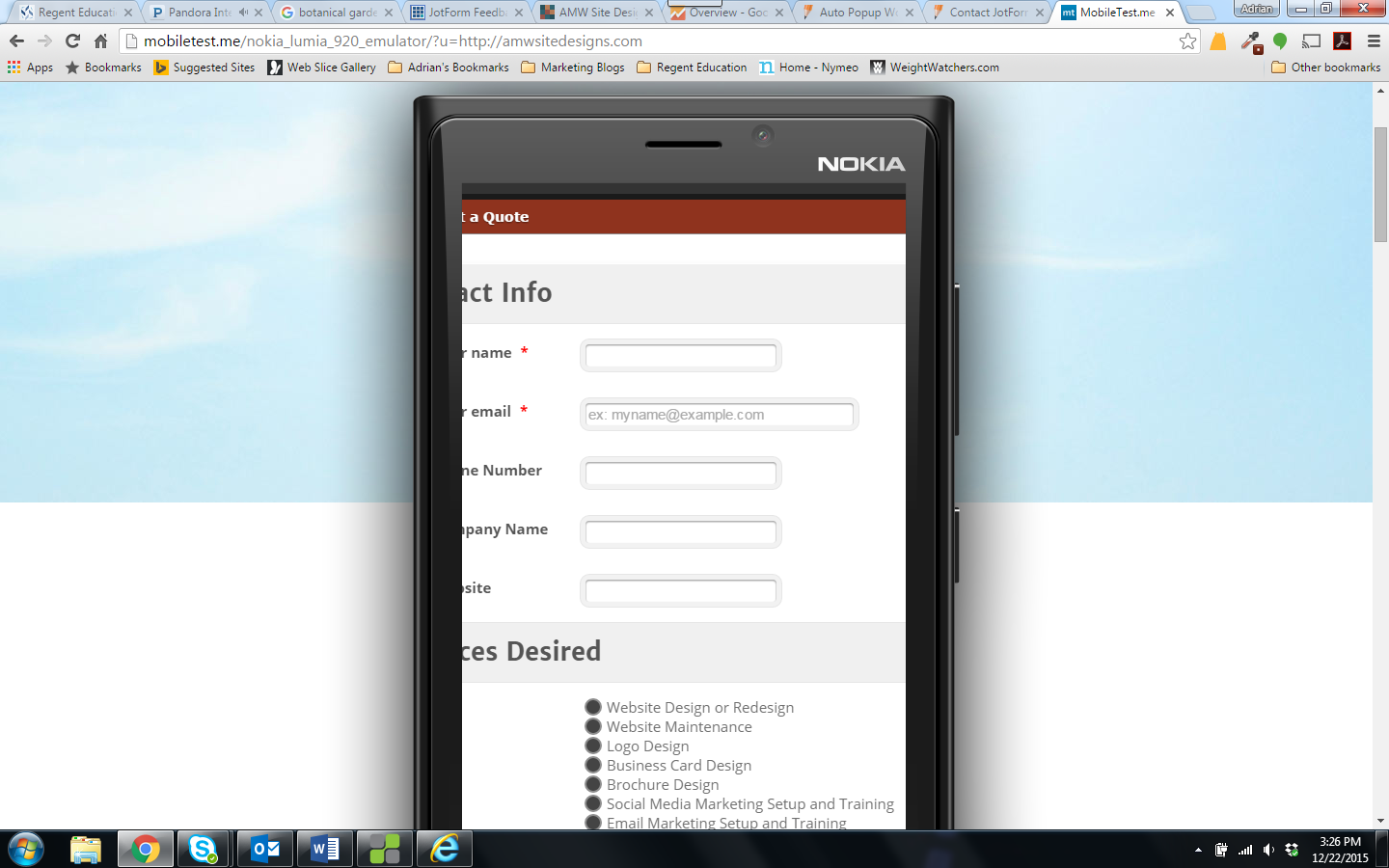 JotForm Feedback Button How to Disable on Mobile