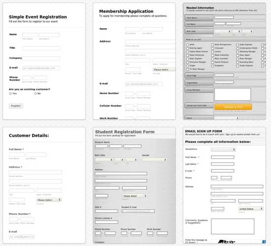 Reasons Why JotForm Is The Best Google Forms Alternative The - Google forms templates