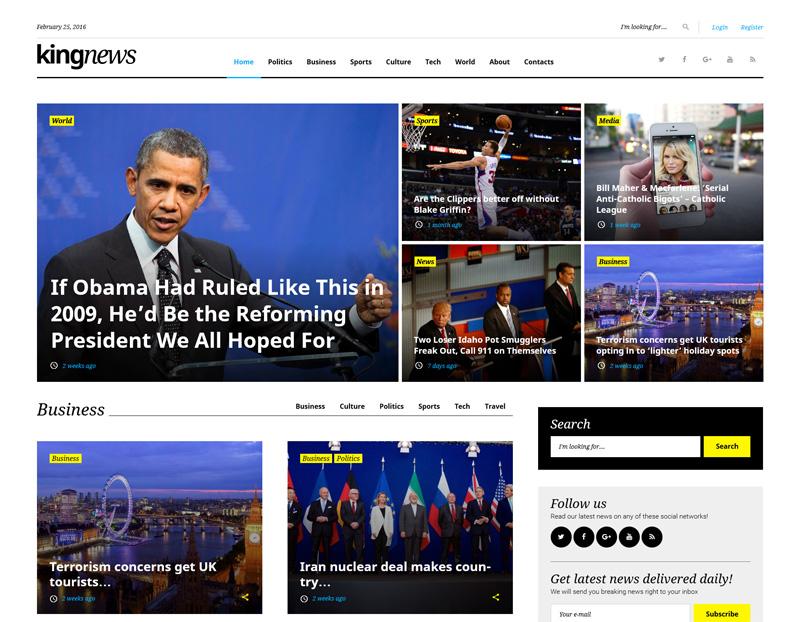 TemplateMonster WordPress