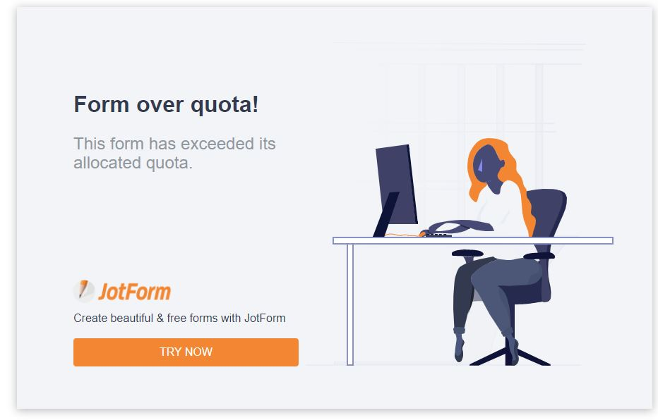 User block quota exceeded