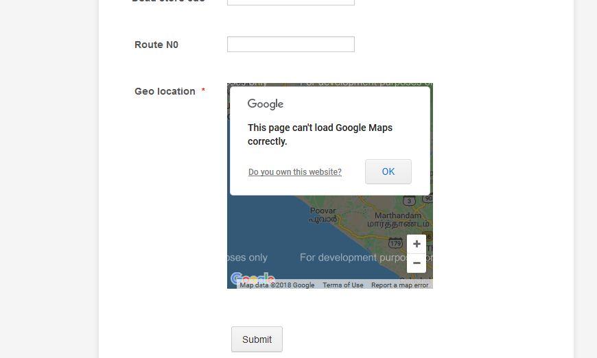 Google API limit exceeded: Geolocation on map showing error on world geo map, google business card, google family tree, google organizational chart, uga map,