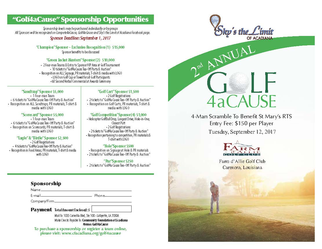 golf tournament registration form template - Www.communityharvest.us