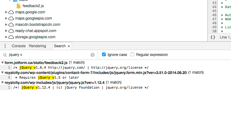 jotform injects OLD jquery 1.6 into our web pages.