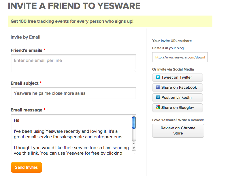 create a form create email