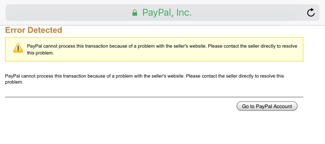transaction paypal