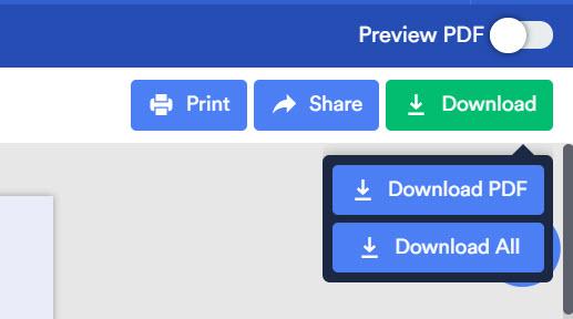 zip file downloading as pdf