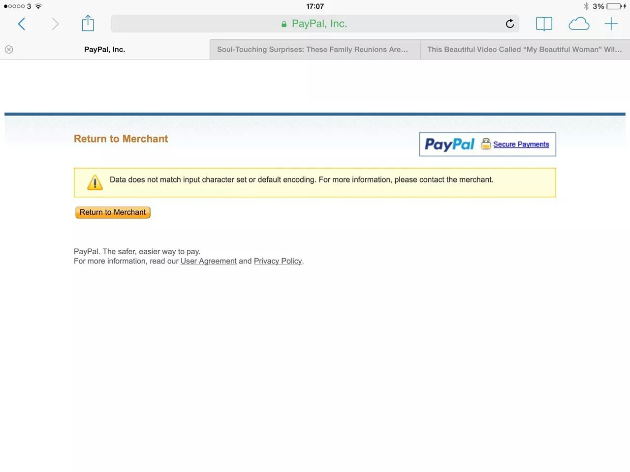 how to send a message through paypal