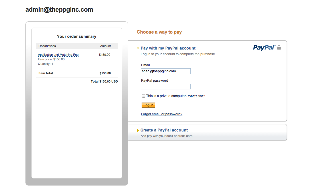 Paypal Forcing Account Login Or Creation To Make Payment