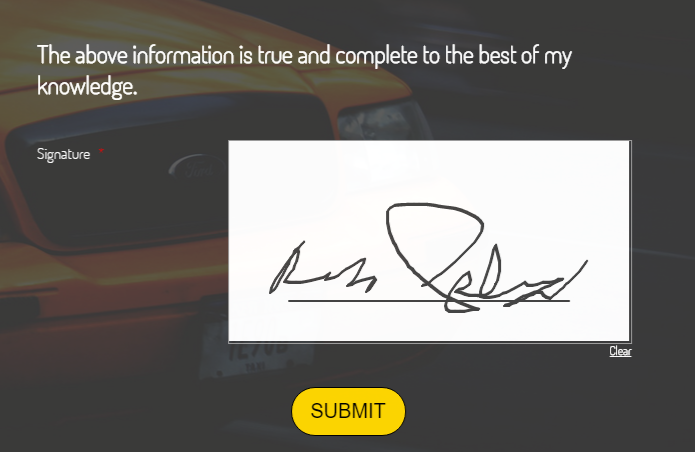 How do I change the color of the signature in the e signature module