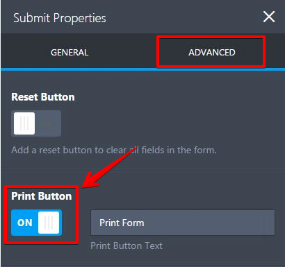 Print Button on Forms | JotForm