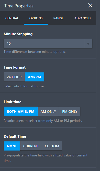 How to Add a Time-Only Field