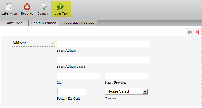 How to set numeric validation for Postal (Zip Code) field? | JotForm