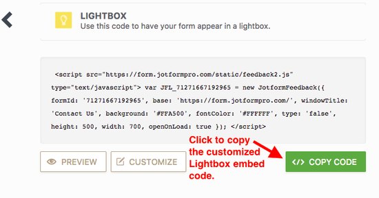 Auto-Popup Lightbox Embed Form With Cookie Using Javascript
