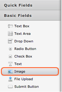 Select Image Field