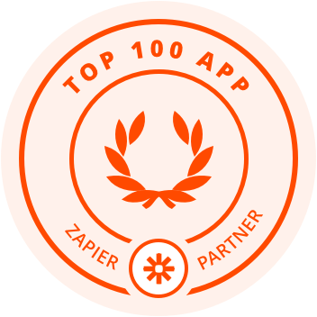 JotForm is one of Zapier's top 100 apps!