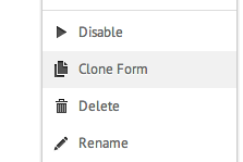 clone form