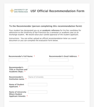 Interview Evaluation Forms | 13 Of The Most Common Online Forms For Higher Education The