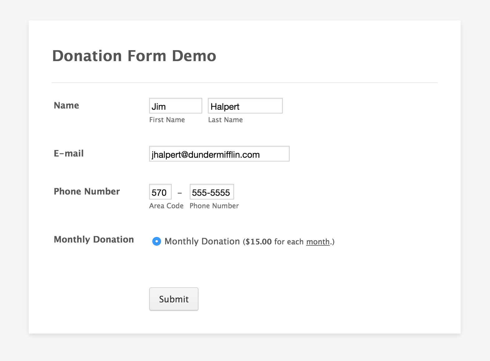how to set up recurring payments jotform donation form recurring payments