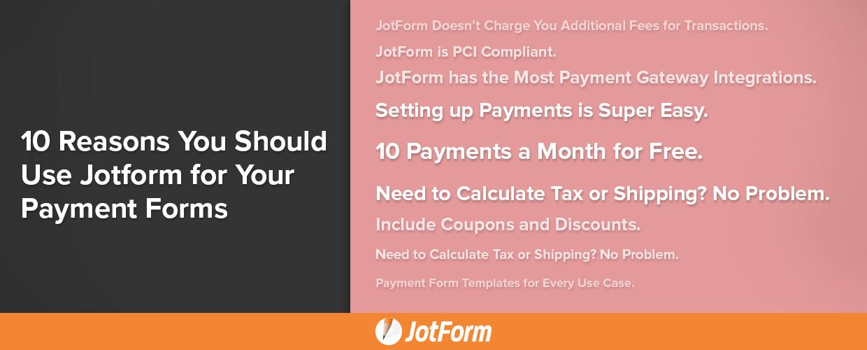 JotForm Payment Forms