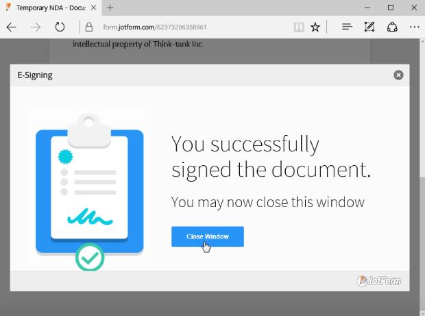 Introducing the JotForm DocuSign Widget | The JotForm Blog