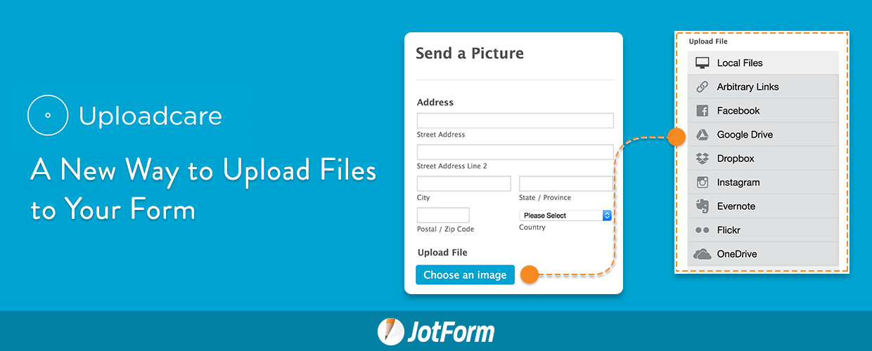 Uploadcare: A New Way to Upload Files to Your Form | JotForm