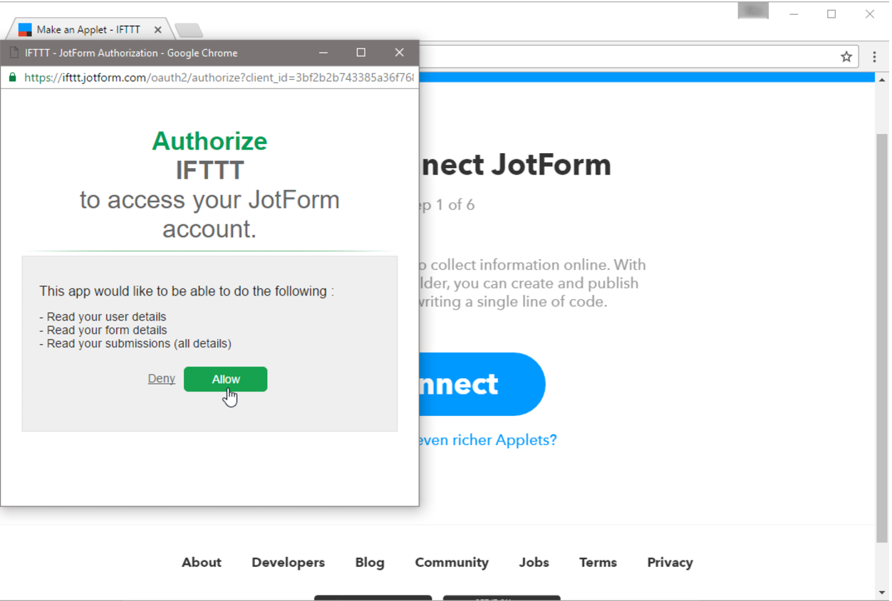 IFTTT Integration: Connect Your Forms with Popular Applications