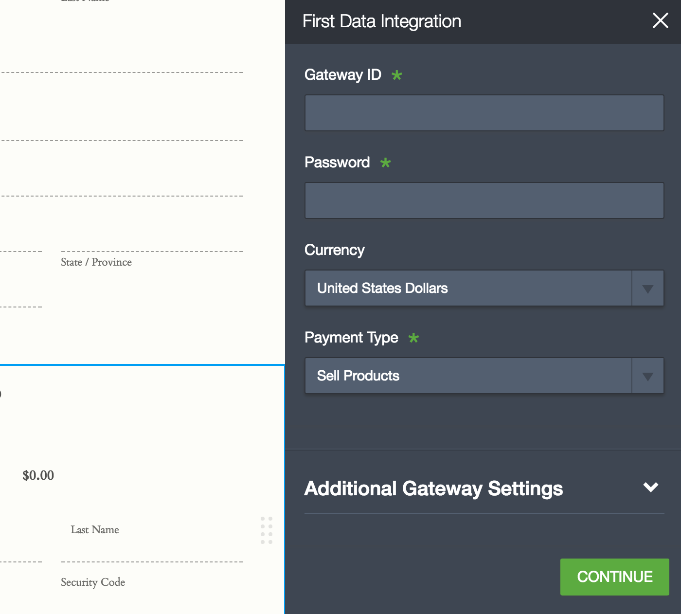 New Integration: Collect Payments with a First Data Payeezy