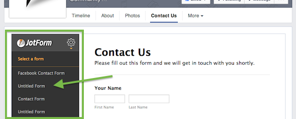 How to Add a Form to Your Facebook Page | The JotForm Blog