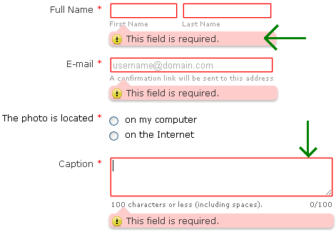 How to change the required field color on a form? | JotForm