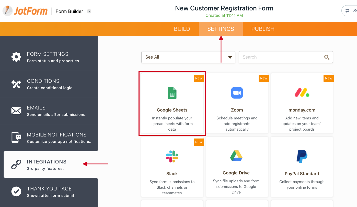 How To Integrate Forms With Google Sheets