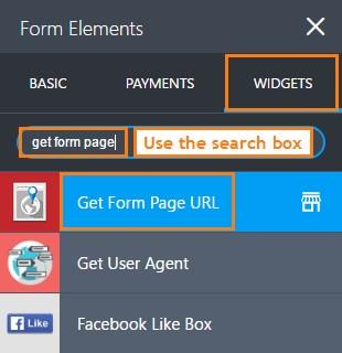 get-form-url-widget