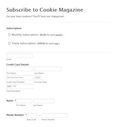 Subscribe to Cookie Magazine