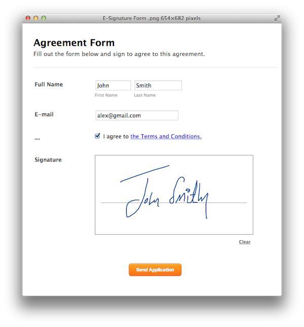 Announcing E-Signatures for Forms | JotForm