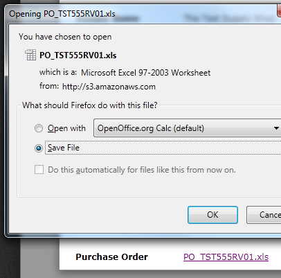 XLSX and DOCX files being downloaded as ZIP files