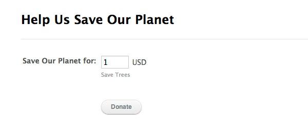 Donation Form