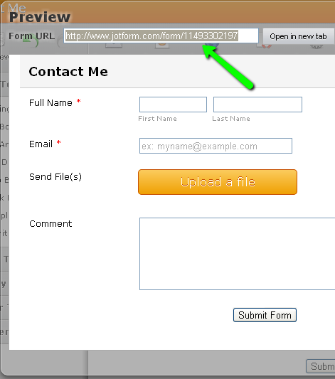Can I link text on my form to another form? | JotForm