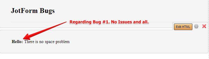 Bug 1 Result
