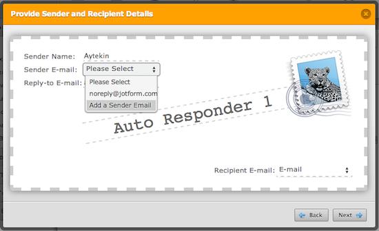 Add a Sender Email