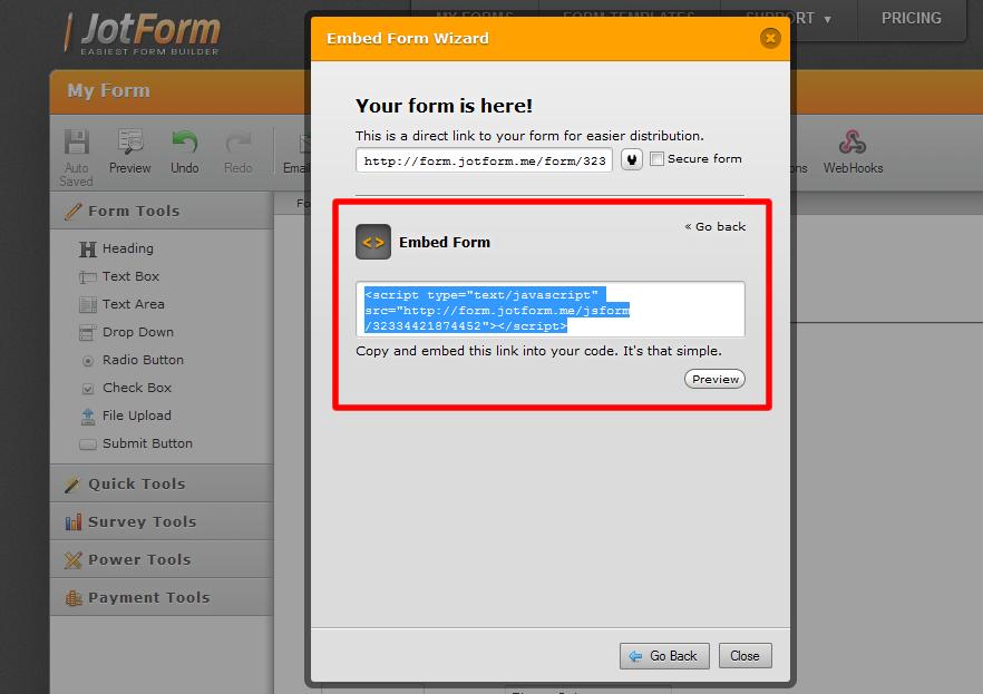 Education Forms  Form Templates  JotForm