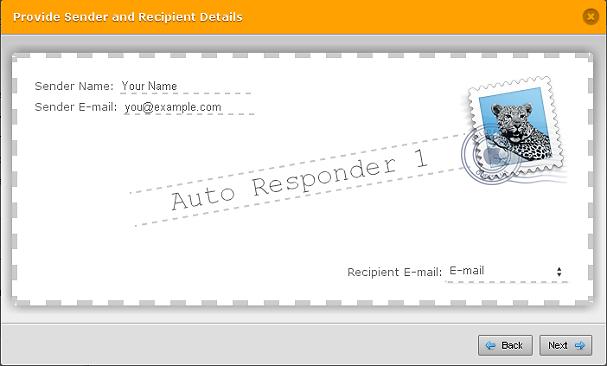 Autoresponder envelope