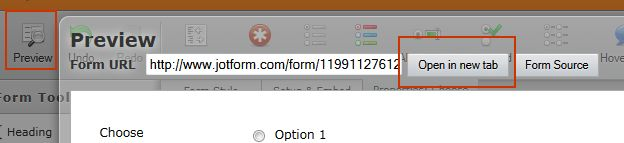 Can i pre select a radio button on a form