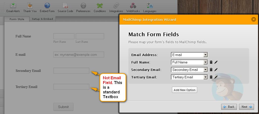 How To Add Custom Fields On Mailchimp Jotform