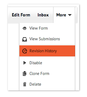 form revisions
