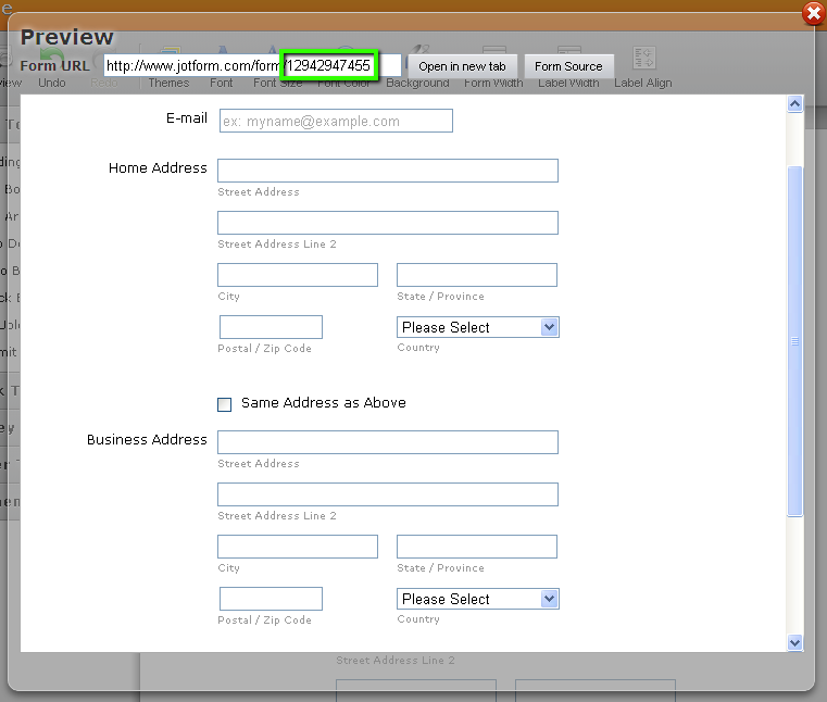 Form Users Can Easily Copy The Content Between Fields | JotForm