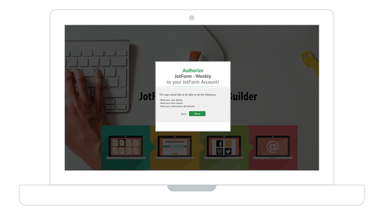 Add JotForm to Your Weebly Site with Ease