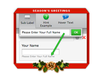 A Christmas Gift from JotForm: Sub labels for everyone