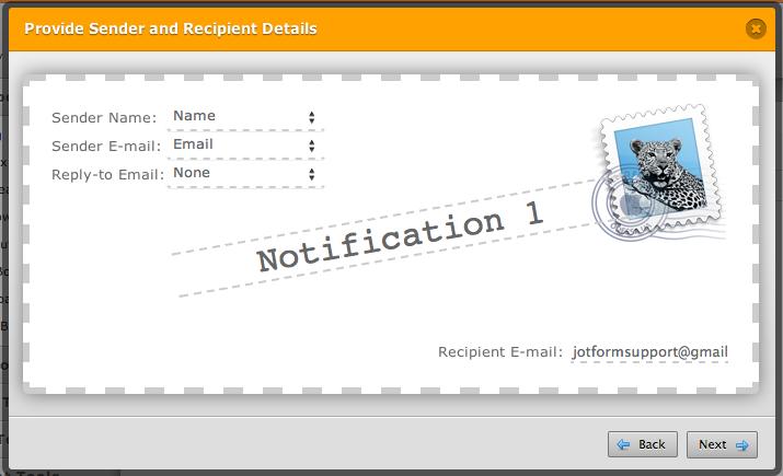 entering email address