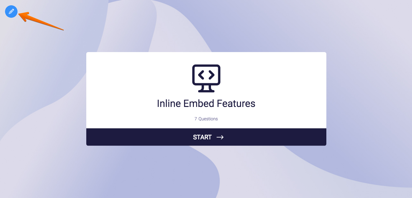 Using the Inline Embed Features in Card forms | JotForm