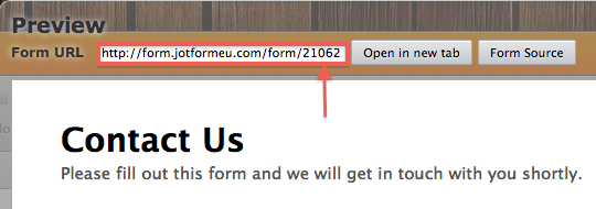 form url digits