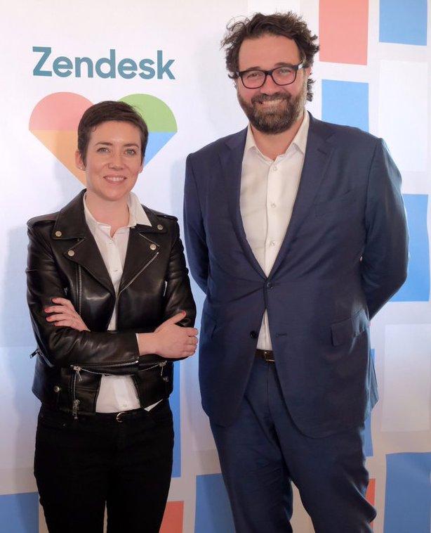Rachel Delacour and Mikkel Svane.